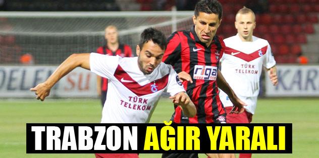 Trabzon ağır yaralı