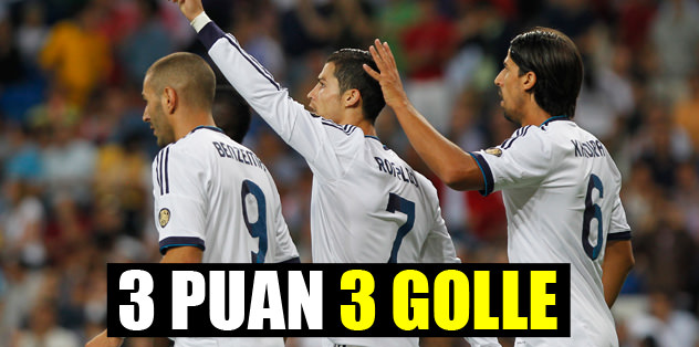 3 puan 3 golle