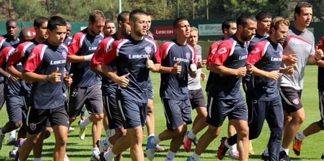 Bursaspor hazırlıkları başladı