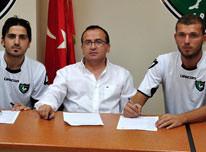 Denizlispor'dan �ifte transfer