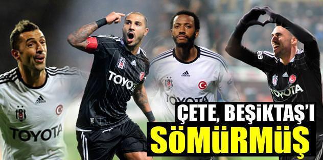 Çete, Beşiktaş'ı sömürmüş!