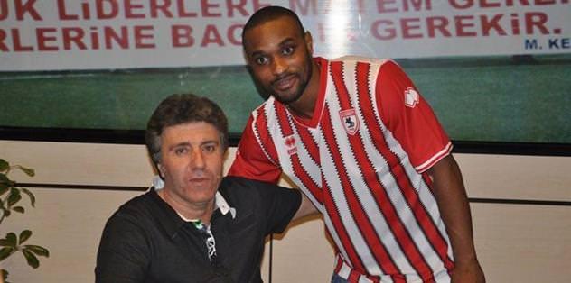 Emmanuel N'Sumbu 2 yıl Samsunspor'da
