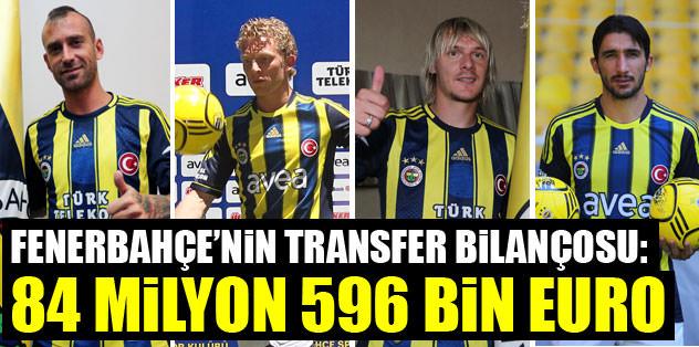 Fenerbahçe 84.5 milyon euro ödeyecek