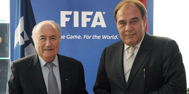 Blatter'den taziye mesajı