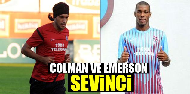 Emerson ve Colman sevinci