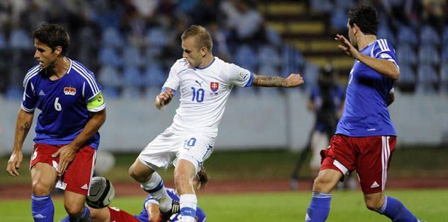 Sapara attı Slovakya kazandı: 2-0