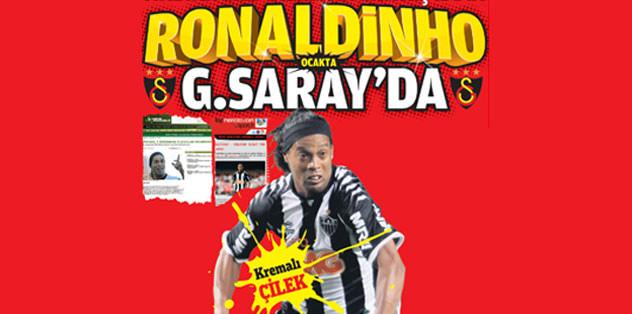 Ronaldinho G.Saray'da