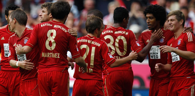 Bayern 3'te 3 yaptı