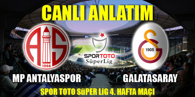 MP Antalyaspor - Galatasaray