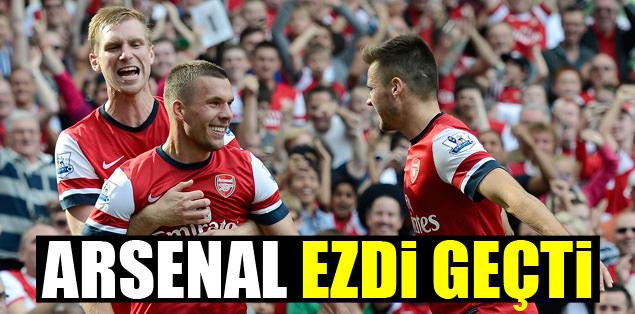 Arsenal, Southampton'u ezdi geçti