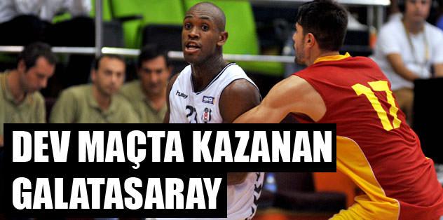 Dev maçta kazanan Galatasaray