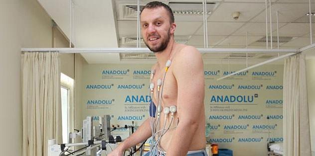 Savanovic sağlık kontrolünden geçti