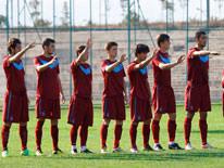 A2 tak�m�, Erzurum'u 4-1 yendi