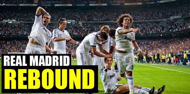 Real Madrid rebound
