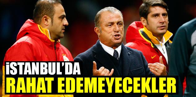İstanbul'da rahat edemeyecekler