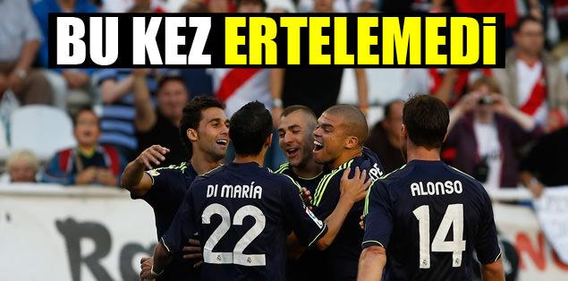 Real Madrid galibiyeti bu kez ertelemedi