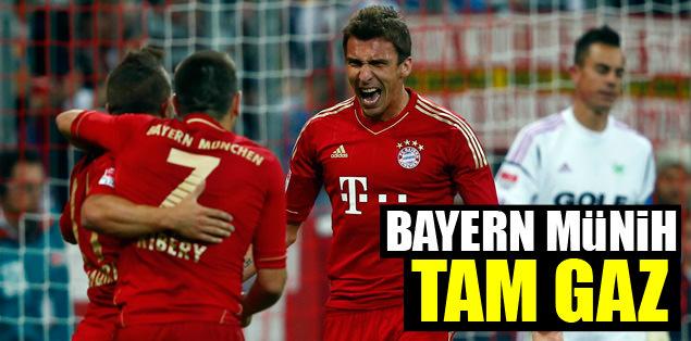 Bayern tam gaz