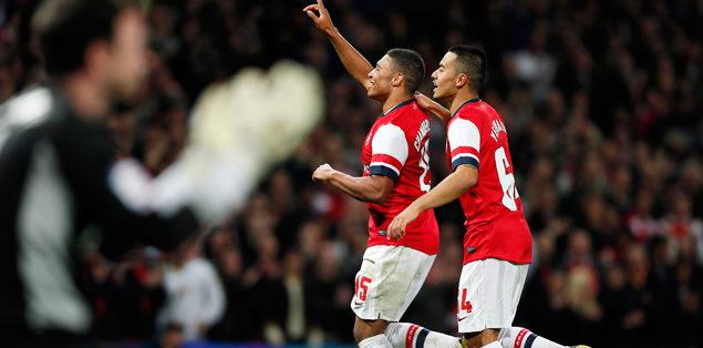 Arsenal turu cümbüşe çevirdi