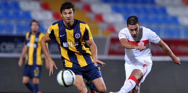 Antalya'da gol yağmuru
