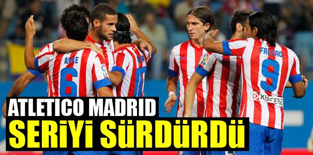 Atletico Madrid seriyi sürdürdü