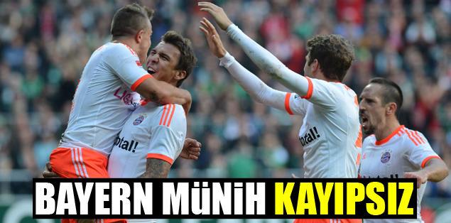 Bayern kaypsız devam