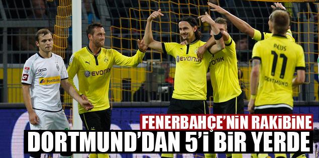 Borussia'dan 5'i bir yerde