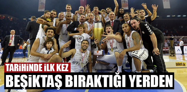 Beşiktaş bıraktığı yerden
