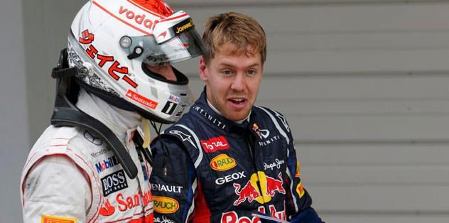 İlk sıra Vettel'in oldu