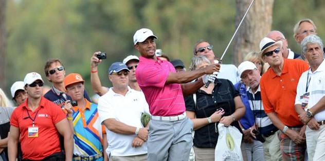 Tiger Woods Antalya'ya veda etti