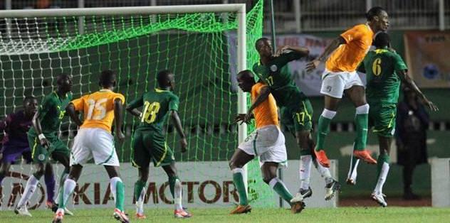 Senegal-Fildişi maçı yarıda kaldı