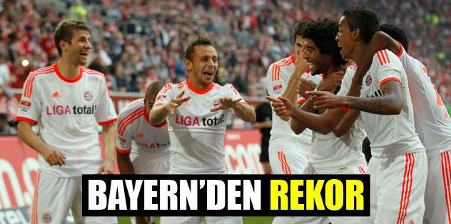 Bayern'den rekor
