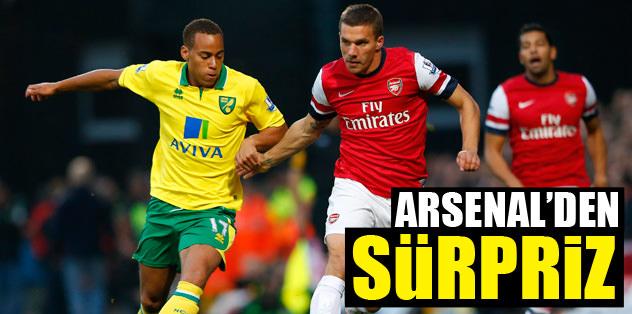 Arsenal'den sürpriz