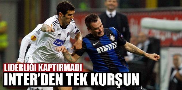 Inter'den tek kurşun