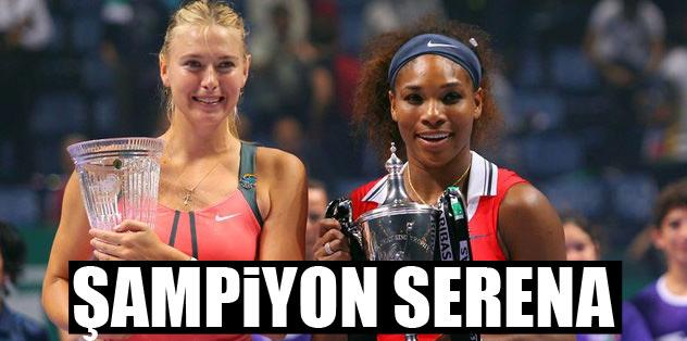 Şampiyon Serena