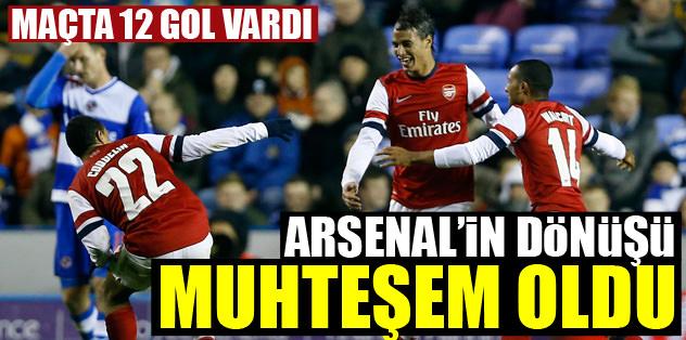 Arsenal'in dönü�ü muhte�em oldu