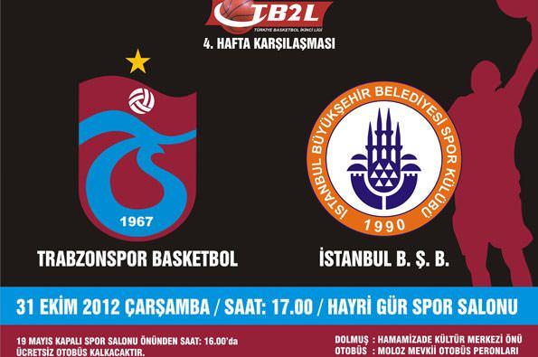 Potada İstanbul BB maçı var