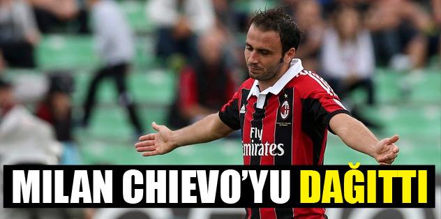 Milan, Chievo'yu dağıttı!