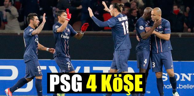 PSG 4 köşe