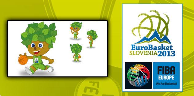 Eurobasket 2013'ün resmi maskotu Lipko