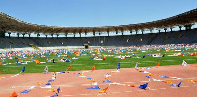 GAP Arena Süper Lig maçına hazır