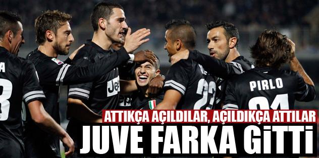 Juventus dağıttı