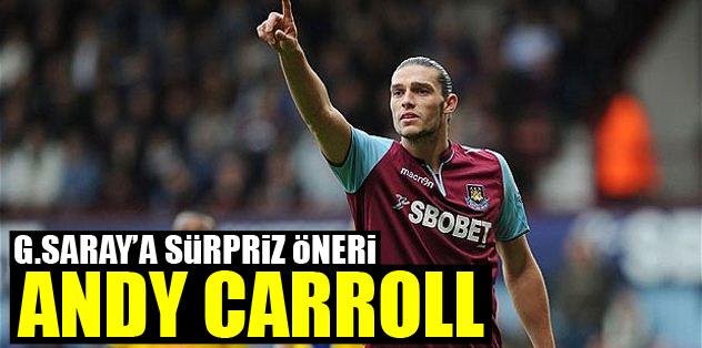 G.Saray'a sürpriz öneri Andy Carroll