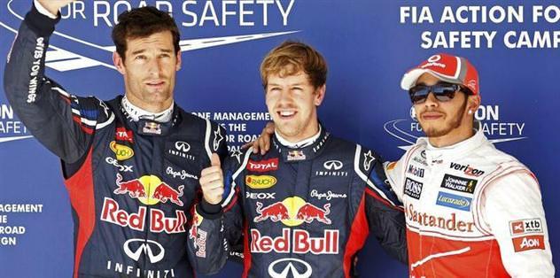 İlk cep yine Vettel'in
