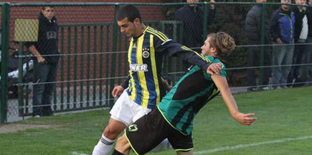 A2 takımı Denizli'yi 1-0 yendi
