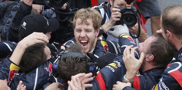 Vettel artık efsane