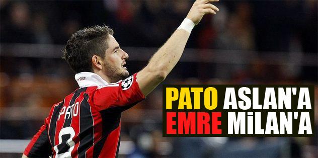 Pato Aslan'a Emre Milan'a