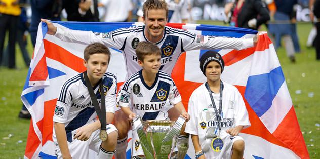 Beckham şampiyonlukla veda etti