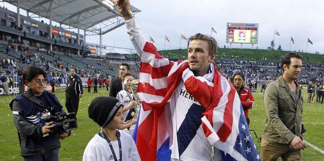 Beckham 'the end'