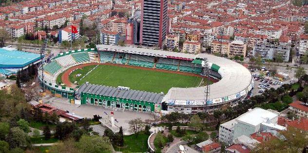 Atatürk Stadı'nı incelediler