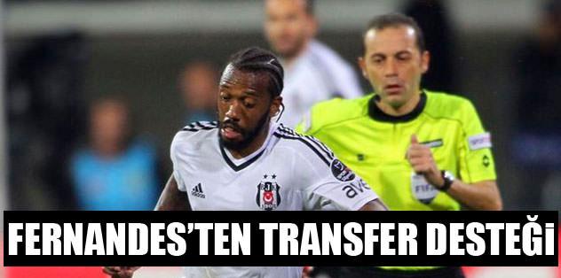 Fernandes'ten transfer desteği
